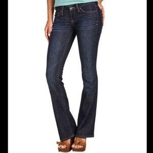 "Lucky Brand ""Zoe"" dark wash jeans regular length"